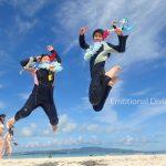 浜島にて。元気にジャンプしてもらえました!