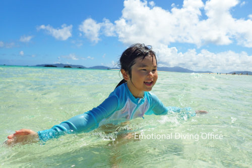 初めての石垣島の海。